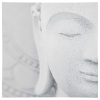 Buddha Close-Up Printed Canvas