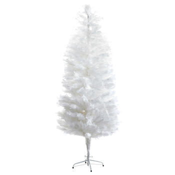 Faux Feathery Tree - 7'
