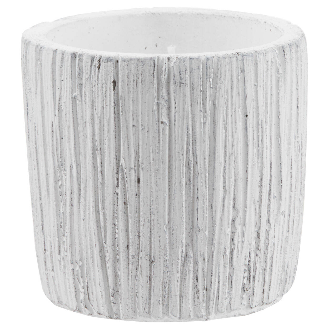 Scratched Cement Candle