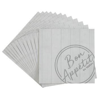 Pack of 20 Bistro Paper Napkins