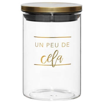Airtight Cela Glass Jar
