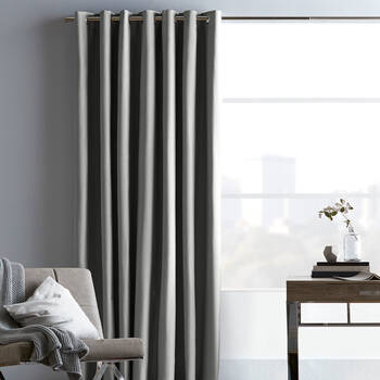 Chambray Blackout Curtain