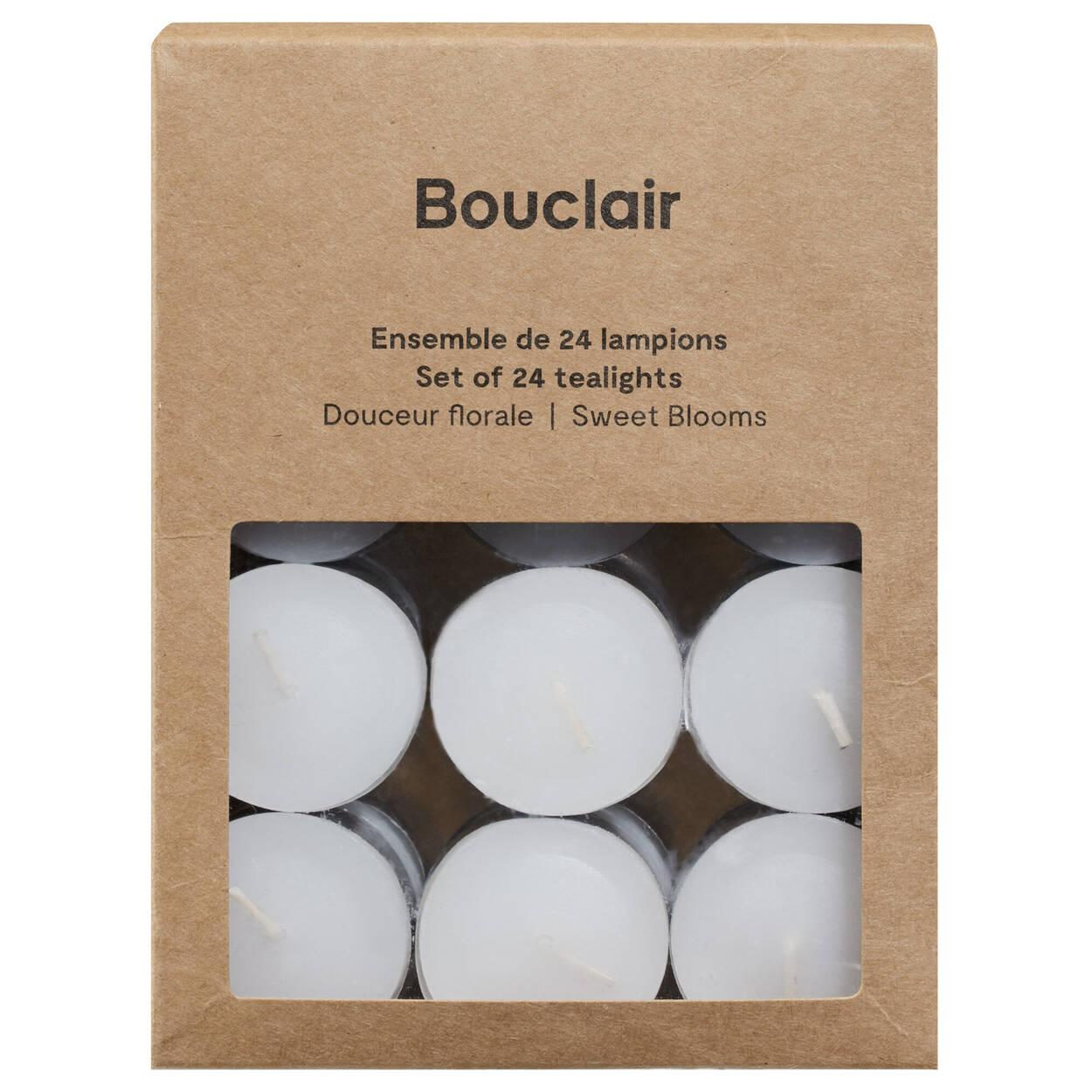 Paquet de 24 lampions parfumés douceur florale