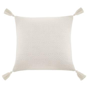 """Noreen Decorative Tassel Pillow 19"""" x 19"""""""