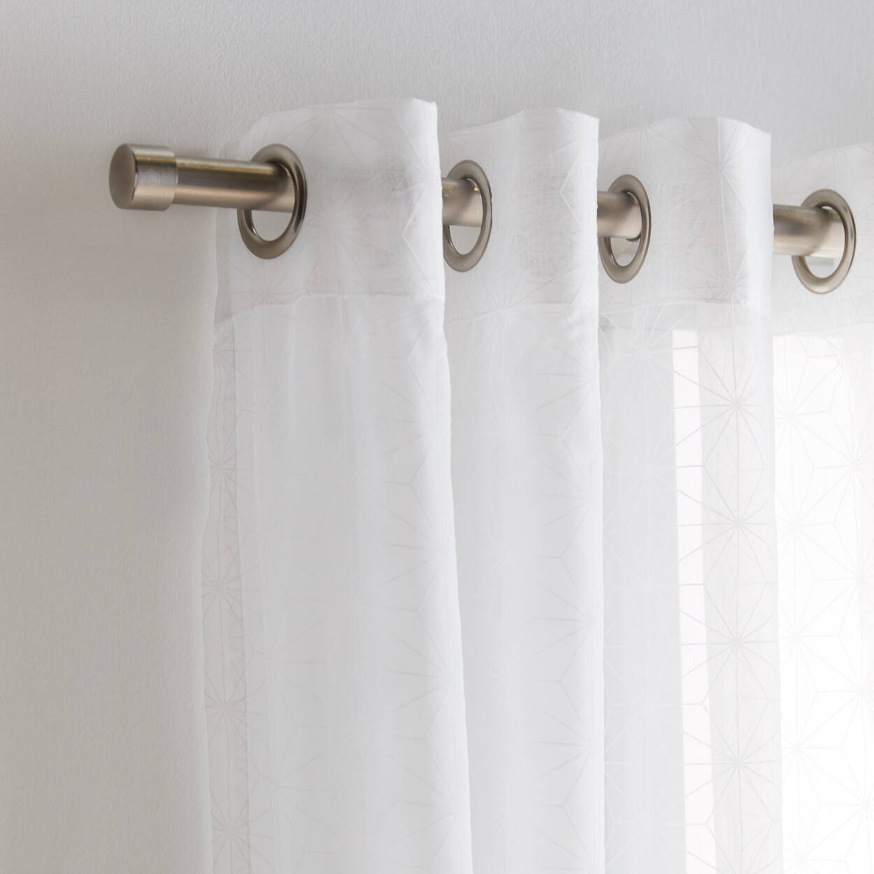 Flocon Sheer Curtain