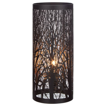 Black Metal Table Lamp
