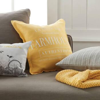 "Faia Decorative Pillow 19"" X 19"""