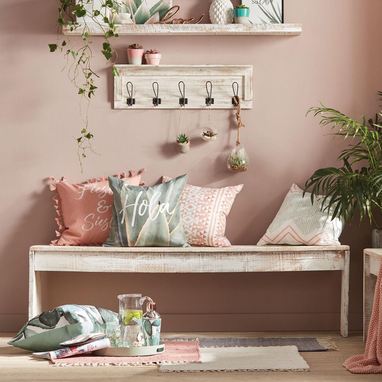 "Hola Decorative Decorative Pillow Cover 18"" X 18"""
