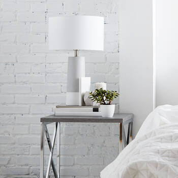 Cement Table Lamp