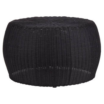 Woven Black Coffee Table