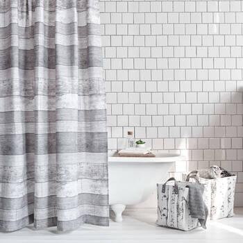 Plank Shower Curtain