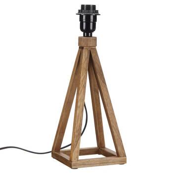 Wood Prism Lamp Base