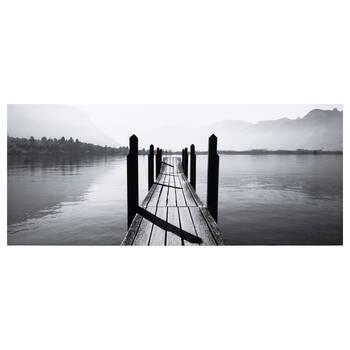 Wooden Dock Framed Art
