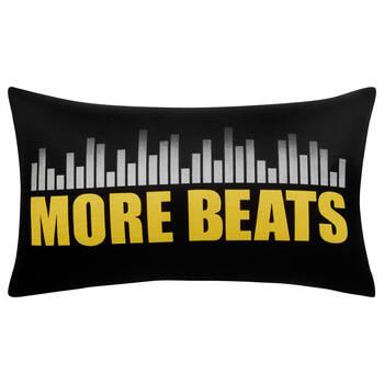 """More Beats Decorative Lumbar Pillow 13"""" x 20"""""""