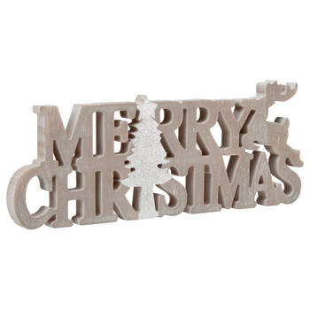 Decorative Words Merry Christmas
