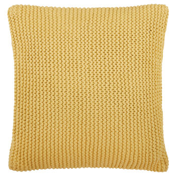 """Kinge Knitted Decorative Pillow 20"""" X 20"""""""
