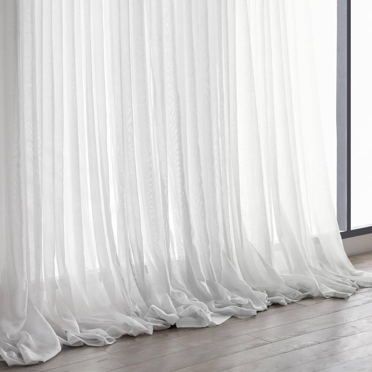 Rideau semi-transparent Kacha