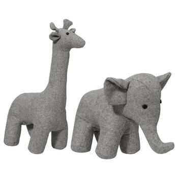 Stuffed Animal Bookends