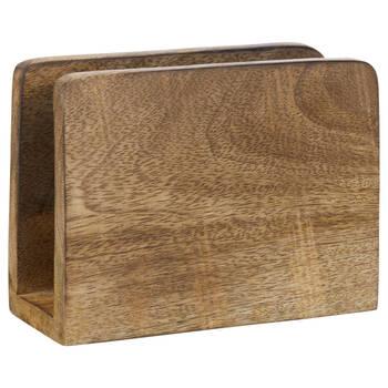 Porte-serviettes en bois de manguier