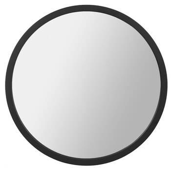 Round Framed Mirror