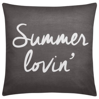 "Summer Lovin' Water-Repellent Decorative Pillow 18"" X 18"""