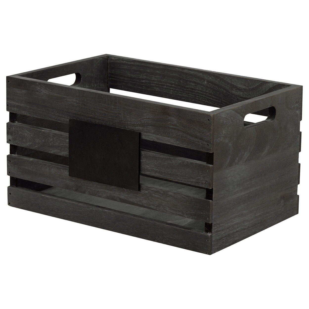 Small Blackboard Wooden Crate