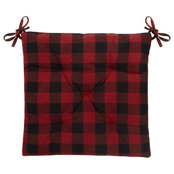 Buffalo Plaid Chair Pad