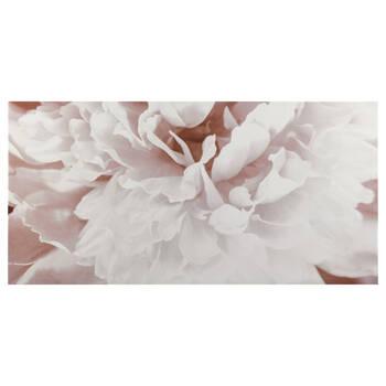 Blush Flower Printed Canvas