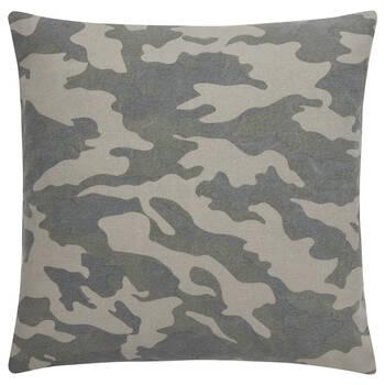 "Camouflage Decorative Pillow 19"" x 19"""
