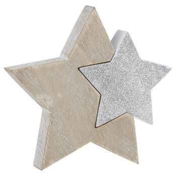 Decorative Wooden Stars