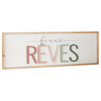 Decorative Plaque Beaux Rêves