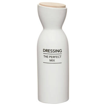 Ceramic Dressing Bottle with Bamboo Lid