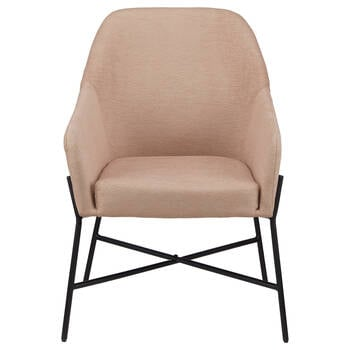 Light Pink Accent Chair