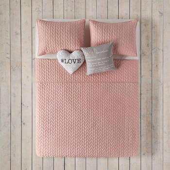 Knit Collection - Coverlet Set