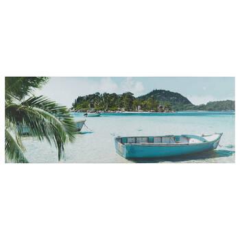 Tropical Getaway Printed Canvas