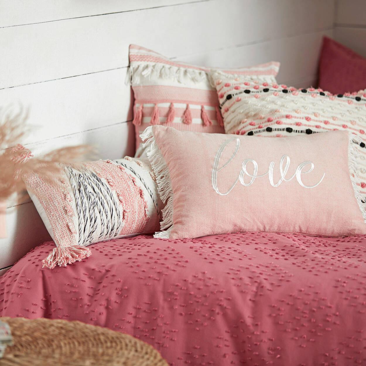 """Kuma Lumbar Decorative Pillow 10"""" x 24"""""""
