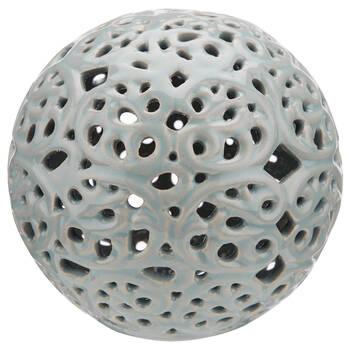 Lace Cut-Out Ceramic Decorative Ball