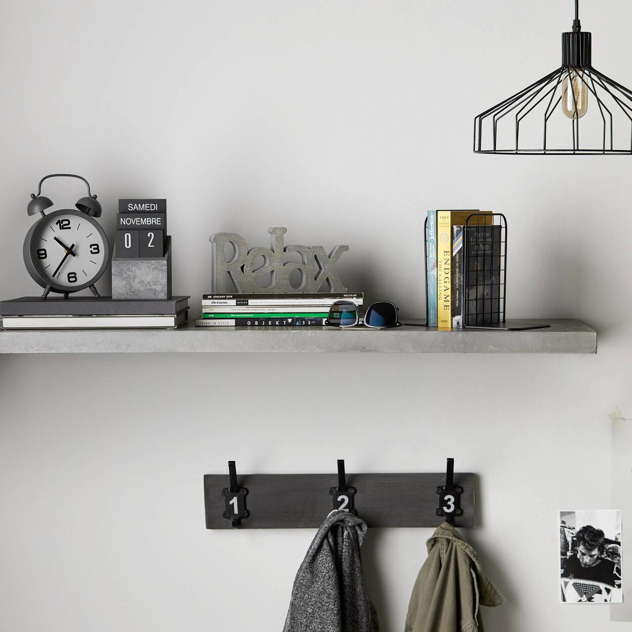 Lampe suspendue en fil de métal
