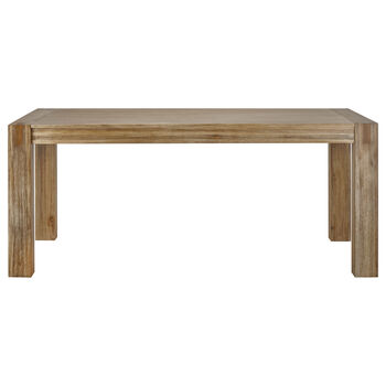 Acacia Wood Dining Table