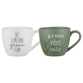 Set of 2 Eco Mugs