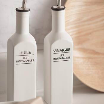 Ceramic Vinegar Bottle with Pouring Spout