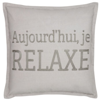 "Je Relaxe Decorative Pillow 19"" X 19"""