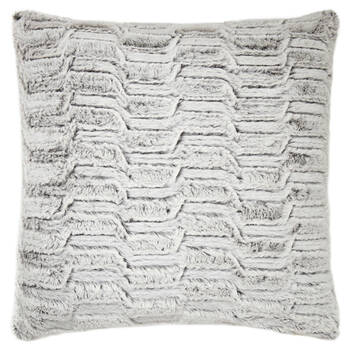 "Herbert Faux Fur Decorative Pillow 20"" X 20"""