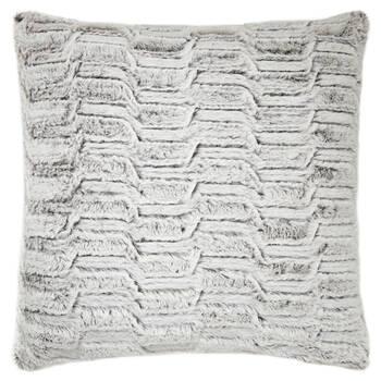 "Herbert Faux Fur Decorative Pillow 20"" X 20"""