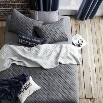Collection Damien - Ensemble de couvre-lit réversible en jersey