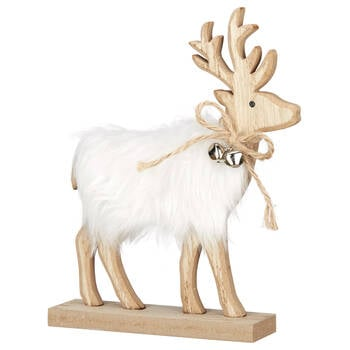 Decorative Wooden Reindeer