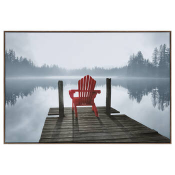 Red Chair Framed Art