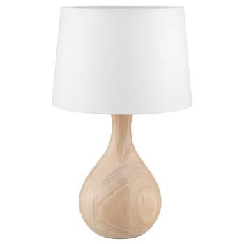 Lampe de table en bois naturel