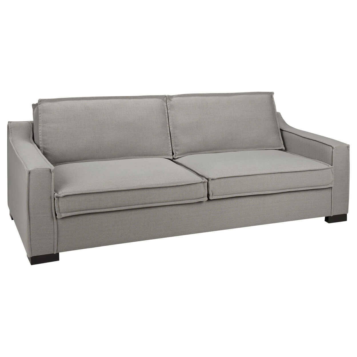 Cotton and Linen 3-Seat Sofa