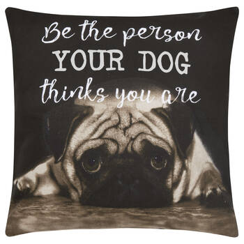 "Be The Person Decorative Pillow Cover 18"" X 18"""